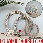 Christmas Rattan Garland Vine Wreath Wicker Ring Wedding Xmas Party Home DIY