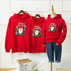 Xmas SaleAdult Kids Family Matching Christmas Jumper Sweater Hoodie Pullover