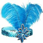BABEYOND 1920s Flapper Headband Roaring 20s Sequined Showgirl Headpiece Great Ga