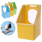 Bird Parrot Food Water Bowl Pigeons Pet Cage Cup Feeder Feeding Supplies