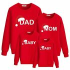 Christmas Family Matching Kids Jumpers Hoodies Mens Ladies Pullover Tops Xmas