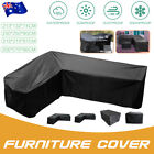 Au 4 Size Waterproof Outdoor Patio Garden Furniture Rain Snow Cover Table Chair