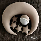 Newborn Photography Props Baby Moon Stars Pillow Hat Backdrop Photo Background