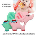 Baby Silicone Elephant Teether Newborn Soother Chewable Teething Toy Safety