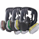 19in1 / 7in1 Full Face Gas Mask Facepiece Respirator for Painting Spraying Charm