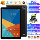 "10.1"" Android 10.0 12+512G Tablet HD PC Google GPS Dual SIM Bluetooth ATT 4G 5G"