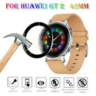 Full Edge Protective Films Curved Surface Soft Fibre Glass For Huawei GT 2 42mm