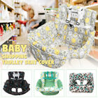 Foldable Baby Shopping Trolley Cart Seat Pad Kid High Chair Protective Mat R R