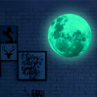 Luminous Moon Wall Sticker Creative Home Decoration Pvc Shiny Stic-pnbdaue'ji