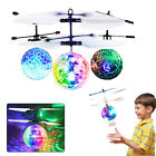 Mini Drone Induction Helicopter Ball UFO Flying Toy Hand-controlled Kid Gift USB