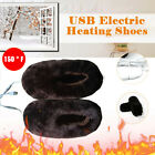 Rechargeable USB Electric Heating Shoes Winter Couple Warm Shoes Warm Foot