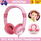 Mpow CH1 Kids Wired Durable Headphones HD Stereo Comfortable Safe Headsets Baby