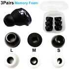 3Pairs Memory Foam Ear Tips for Samsung Galaxy Buds Pro Earbuds Eartips L/M/S