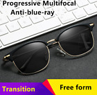 Photochromic/Transition Multifocal Free Form Progressive Reading Glasses New