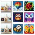 12x12'' Latch Hook Rugs Making Kits Crafts Embroidery Kit for Beginners