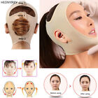 Women Facial Thin Face Slimming Bandage Belt Shape Lift Remove Double Chin UK