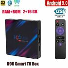 2021 H96 Max Smart Set Top Box 4K Ultra HD WiFi Media Player 5.8GHz Android 9.0 picture