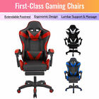 Ergonomic Computer Game Gaming Chair Office Chair W Massage Gaming Desk