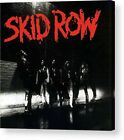 Skid Row Skid Row Retro Album Cover Paper Posters Or Canvas Framed Wall Art