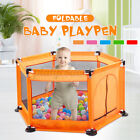 Portable Baby Playpen Fencing For Child Folding Safety Ball Pool Fence