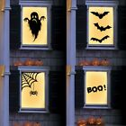 Bat Ghost Scary Wall Sticker Wallpaper Decal Home Party Decoration Halloween Uk