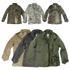 CLASSIC M65 ARMY COMBAT FIELD MENS JACKET US M-65 COAT PARKA + LINER S-5XL