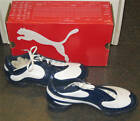 Ladies Girls Kids Puma Golf Shoes Sneakers Spikes Small Sizes - PG Patent Navy