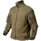 HELIKON TACTICAL LIBERTY FLEECE WARM MENS POLAR JACKET HIKING COYOTE BROWN S-XXL