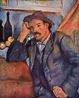 Cezanne Man with the Whistle - Stretched Giclee Canvas