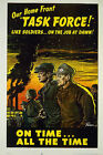 Our home front task force! WWII 1944 Poster