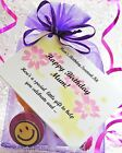 Mum BIRTHDAY Survival Kit Gift / Card Fun Novelty Keepsake / Present for Her