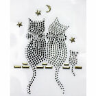 Rhinestone Iron on Transfer Hot fix Design Mini cat
