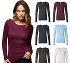 Bella Ladies Sophie Tee Sheer Long Sleeve T-Shirt Womens Top S M L XL 2XL 8751