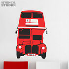 Vintage London Bus Stencil, reusable 2 layer wall stencil, various sizes