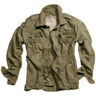 SURPLUS CLASSIC STYLE HERITAGE JACKET VINTAGE LOOK SUMMER MENS COAT WASHED OLIVE