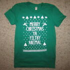 womens ugly christmas sweater t shirt reindeer holiday contest winner awesome