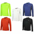 AIRTRACKS FUNKTIONS RUNNING T-SHIRT LANGARM PRO AIR / LAUFSHIRT / SCHWARZ BLAU