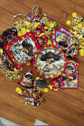 EVERYTHING FOR PIRATE BIRTHDAY PARTY PLATES CUPS NAPKINS TABLECOVERS COINS ETC