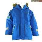 Brand New Kids Didriksons Camden Waterproof Bright Blue Hooded Ski Jacket