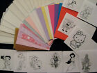COOL CARDZ  25 POUCHES + NEW PRINTED INSERTS****FAB***FAB***FAB