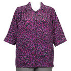 A Personal Touch Blouse Plus 2X Women's Shirt