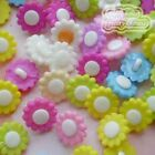 Assorted Sunflower 15mm Plastic Buttons Sewing Scrapbooking Cardmaking Craft
