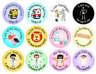 48 stickers for nurse, doctor, hospital, medical