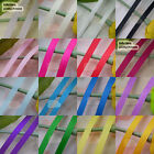 50 Yards/Roll Grosgrain Ribbons Sewing Scrapbooking Craft 6mm,10mm,15mm