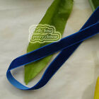 Navy Velvet Ribbons Trim Sewing Craft 6mm,10mm,12mm,15mm,18mm,24mm,38mm #175