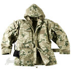 HELIKON ECWCS GEN II ARMY HOODED JACKET WATERPROOF MENS PARKA POLISH DESERT CAMO