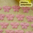 Pink Butterfly Appliques Padded Sewing Scrapbooking Trim Craft APQC
