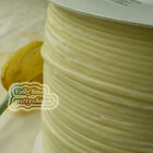 "3mm 1/8"" Cream Velvet Ribbons Craft Sewing Trimming Scrapbooking #4"