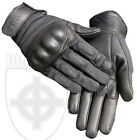 TACTICAL COMBAT HARD KNUCKLE CARBON FIBRE ARMOURED NOMEX GLOVES DISCIPLE BLACK