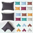 Homescapes 100% Cotton Pillowcases Luxury 200 Thread Count Percale 2 Styles